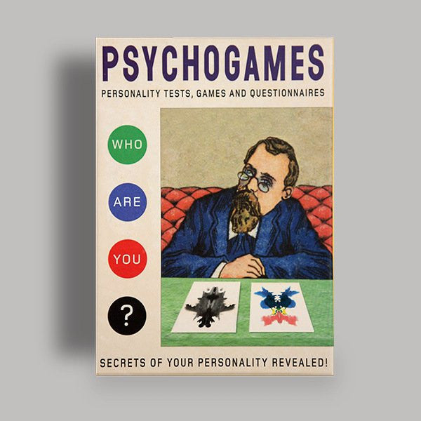 The Redstone Press - Psychogames - pt udsolgt/sold out