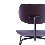 Please Wait To Be Seated: Egon Eiermann SE68 Multipurpose Chair - Aubergine