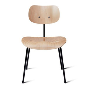 Please Wait To Be Seated: Egon Eiermann SE68 Multipurpose Chair - Birch