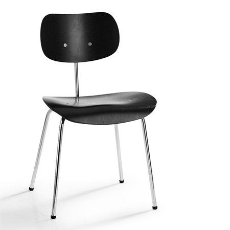 Please Wait To Be Seated: Egon Eiermann SE68 Multipurpose Chair - Black