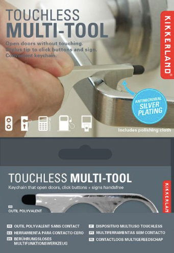 Kikkerland Touchless Multi-Tool
