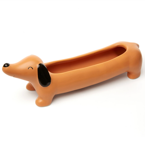 Kikkerland Daisy the Dachshund Planter