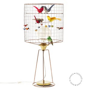 Bird Cage Voliere Haute bordlampe / table lamp