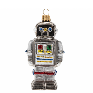 Robot julepynt / Robot christmas ornament - Pre-order now!