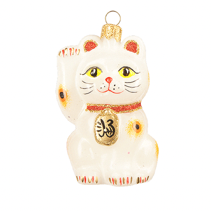 Lucky Cat julepynt / Lucky Cat christmas ornament
