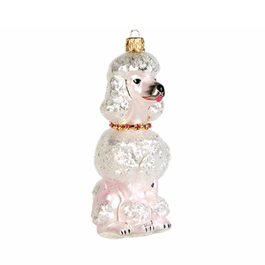 Puddel julepynt / Poodle christmas ornament - Pre-order now!