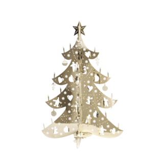 Small X-Mas Tree - Gold