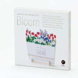 Good Morning inc. Calendar 2021 - Bloom