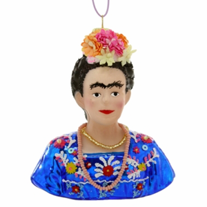 Frida Kahlo Christmas Ornament
