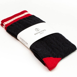 ROYALTIES Paris Mens Socks - Bobby Marine