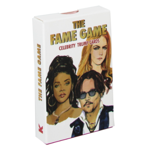 The Fame Game - Celebrity Trump Cards