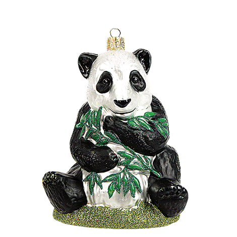 Panda julepynt / Panda bear christmas ornament - Pre-order now!
