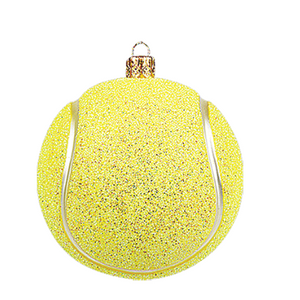 Tennisbold lille julepynt / Tennis Ball christmas ornament