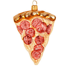 Pizza pepperoni julepynt / Pizza pepperoni christmas ornament - Pre-order now!