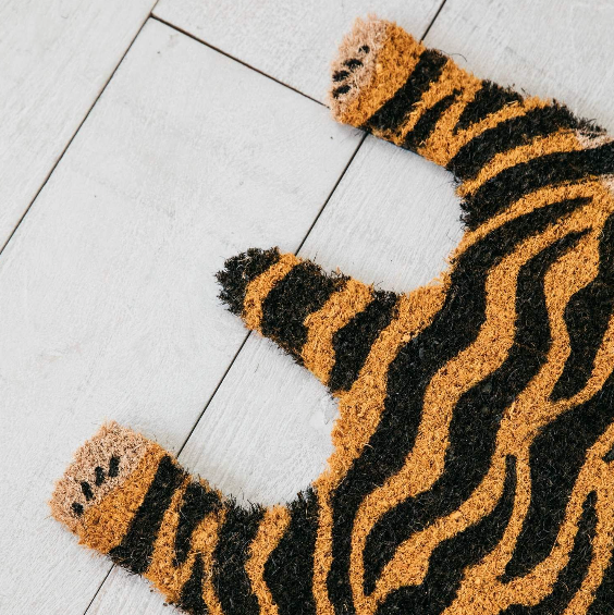 Tiger dørmåtte - Tiger door mat