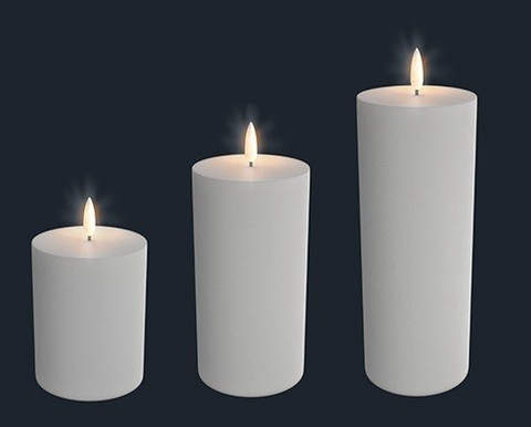 Uyuni LED Bloklys / LED Candle - 3 different sizes!