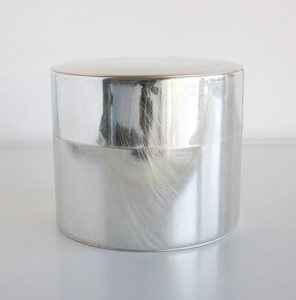 Syuro Japanese Metal Box - Cylindral Tea Box Ø10,5 cm - Tin