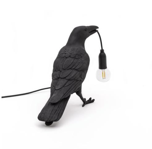 Seletti Bird Lamp Black - Table Lamp - pt. 2 ugers levering