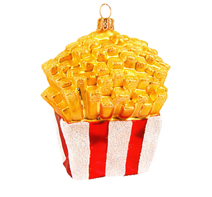 French Fries julepynt / French Fries christmas ornament - Pre-order now!