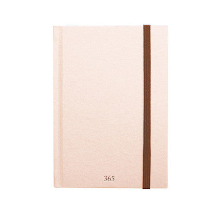 365notebook A6 - Premium Hardcover Sakura- Use Less Paper!