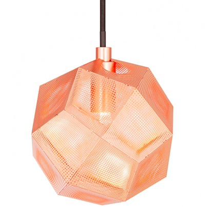 Tom Dixon Etch Mini Pendant Copper / Kobber