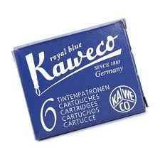 Kaweco Ink Cartridges 6 Pack - Royal Blue