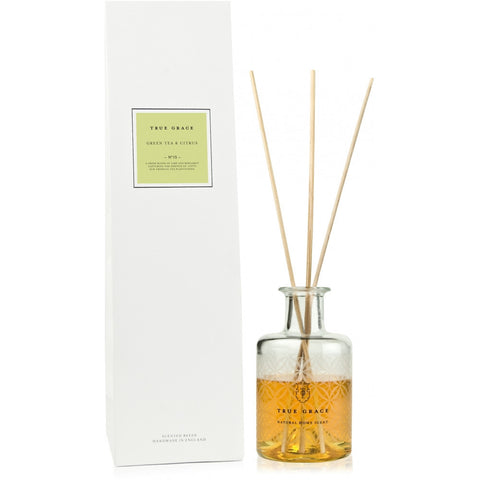 True Grace Green Tea & Citrus Room Diffuser - pt udsolgt
