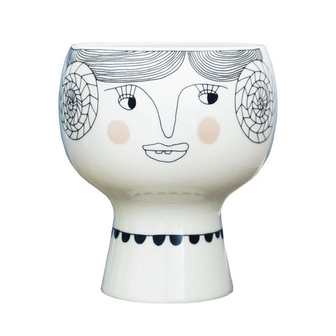 Meyer-Lavigne Flower Me Happy Pot- Vera