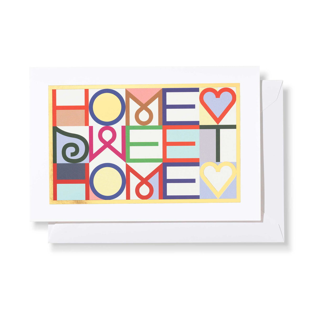 Vitra Home Sweet Home Greeting Card