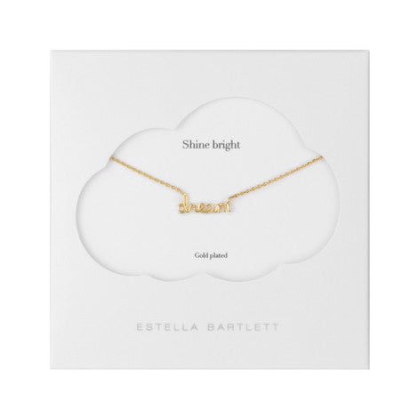 Estella Bartlett - DREAM Word Necklace