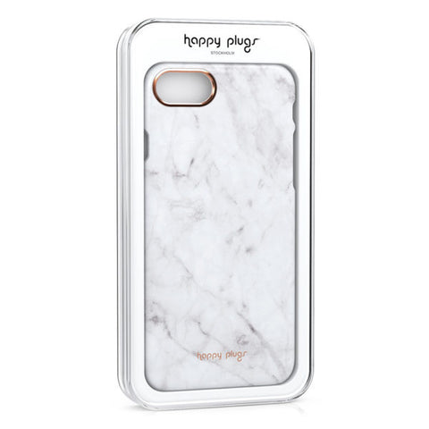 Happy Plugs Iphone 7/8 Slim Case - White marble