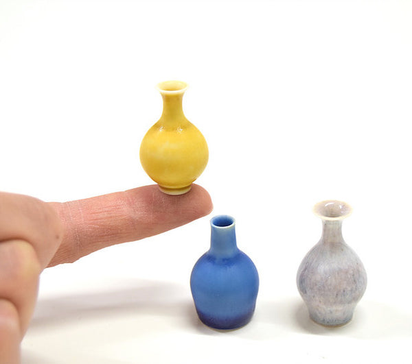 Miniature Vases by Yuta Segawa - only available in store!