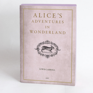 Slow Design Libri Muti - Alice in Wonderland