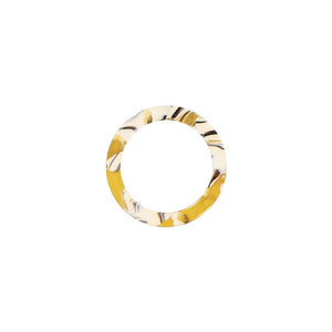 AYM Amparo Ring - Copenhagen Yellow