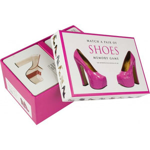 Match a Pair of Shoes Memory Game