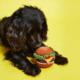 Burger Dog Toy- pt. udsolgt/sold out