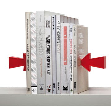 Monkey Business Arrow magnetiske bogstøtter / magnetic bookends