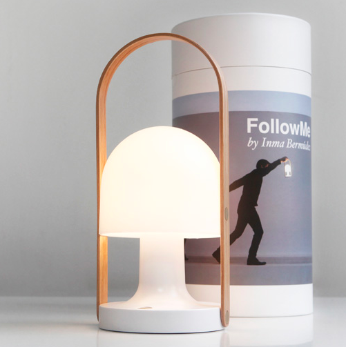 Follow Me genopladelig lampe / rechargeable lamp