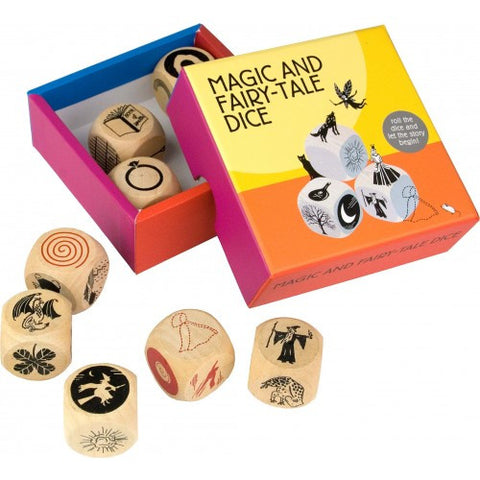 Magma Magic & Fairy-Tale Dice (Story telling game)  - soon back in stock!