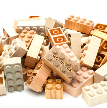 Mokulock Japan Wooden blocks - pt udsolgt/ sold out
