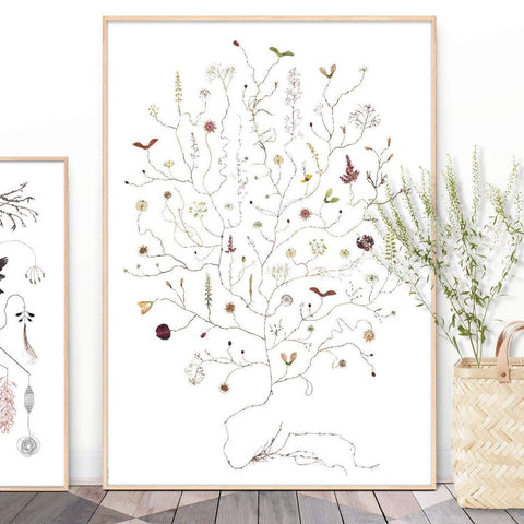 Lottas Trees - August Tree print