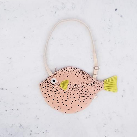 Don Fisher Small Pink Pufferfish (Globo Pequeño) Bag - Coming soon!