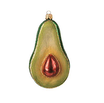 Avocado julepynt / Avocado ornament - coming soon- please preorder!