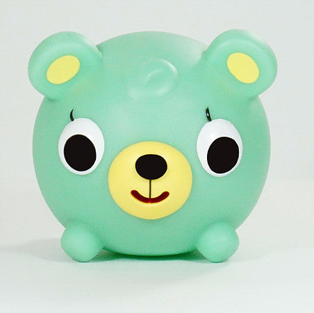 Sankyo Toys Jabber Ball! Green Bear