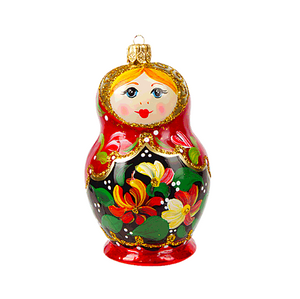 Matryoshka julepynt / Matryoshka christmas ornament - Pre-order now!