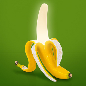 Seletti Rechargable Banana Lamp Yellow
