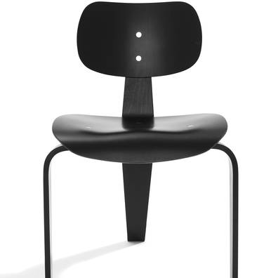Please Wait To Be Seated: Egon Eiermann SE42 Chair - Black