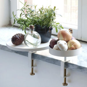 NAVET Sthlm Clamp Tray - Large Cream White