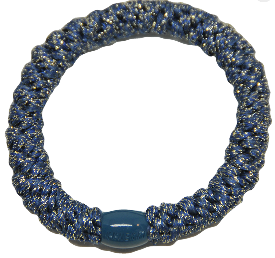 Kknekki Hair Band - Blue Glitter