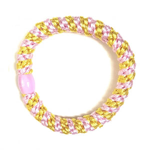 Kknekki Hair Band - Light pink/Yellow
